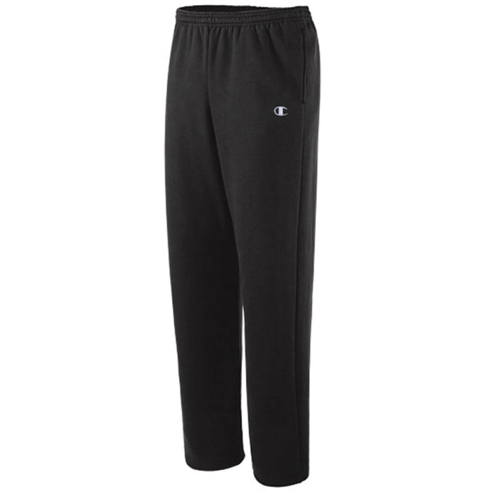 CHAMPION Men's Eco Fleece Sweatpants - BLACK-003