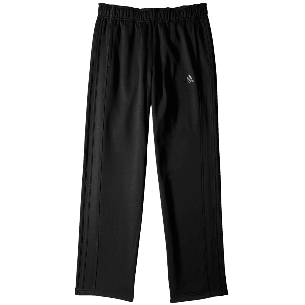 ADIDAS Men's Team Issue Three-Stripe Pants - BLACK/BLACK-M64715