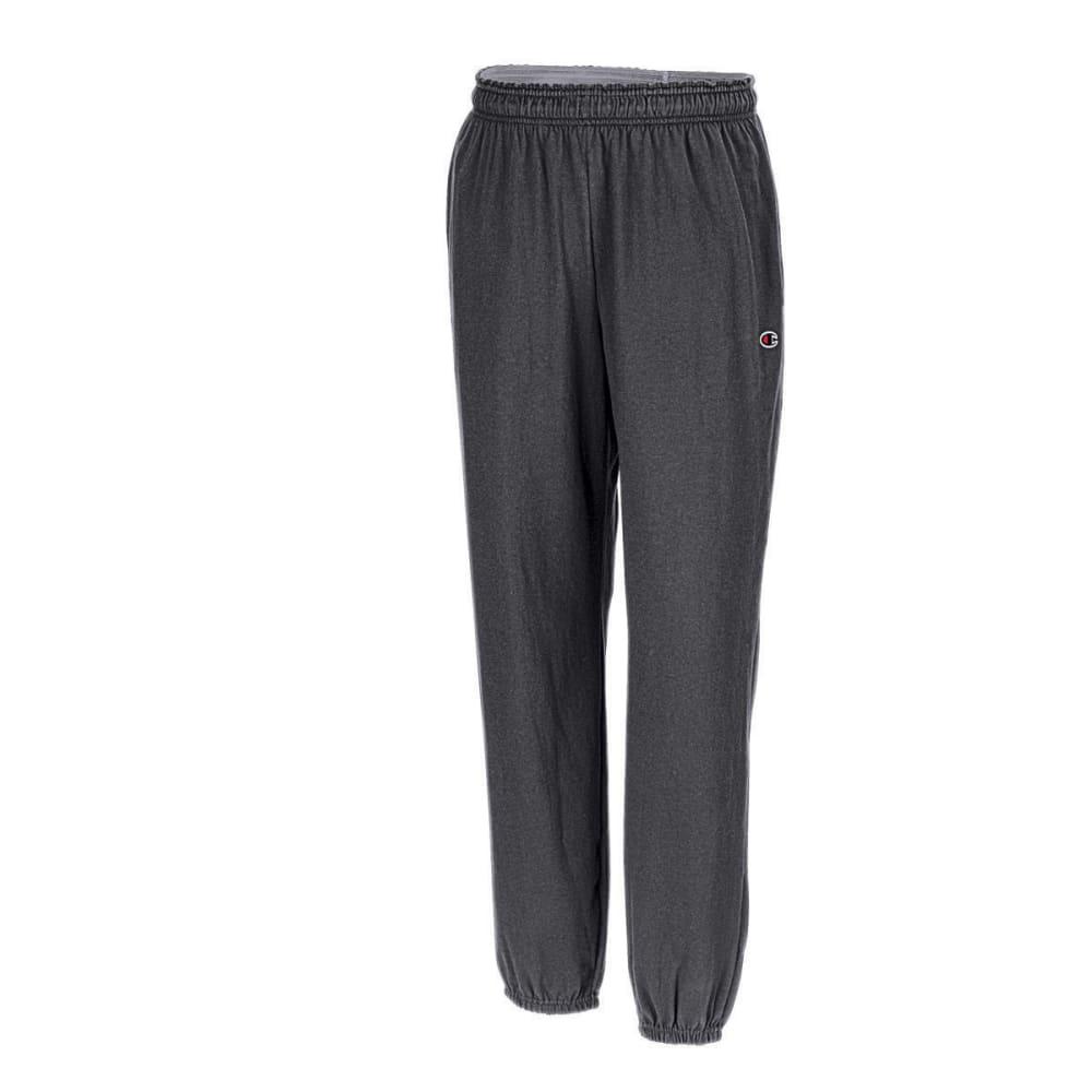 CHAMPION Men's Closed Bottom Jersey Pants S