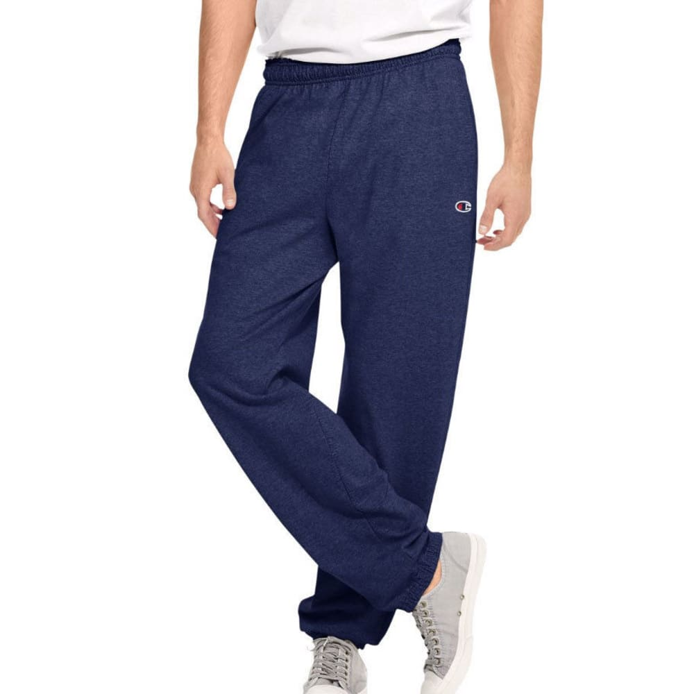 CHAMPION Men's Closed Bottom Jersey Pants S