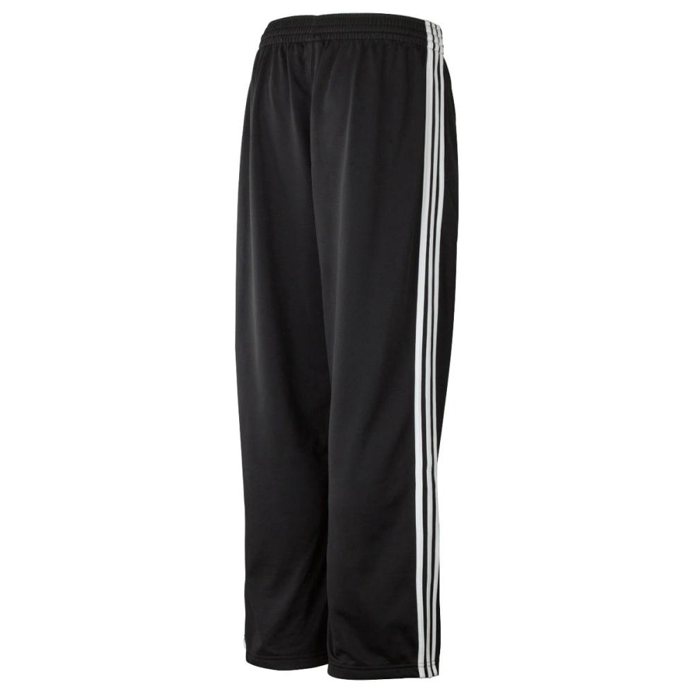 ADIDAS Men's 3 Stripe Tricot Pants - BLACK/WHITE-173295