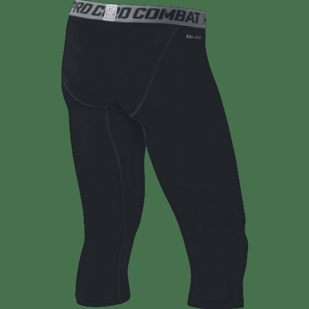 NIKE Men's Core Comp 3/4 Tights - BLACK/GREY-010