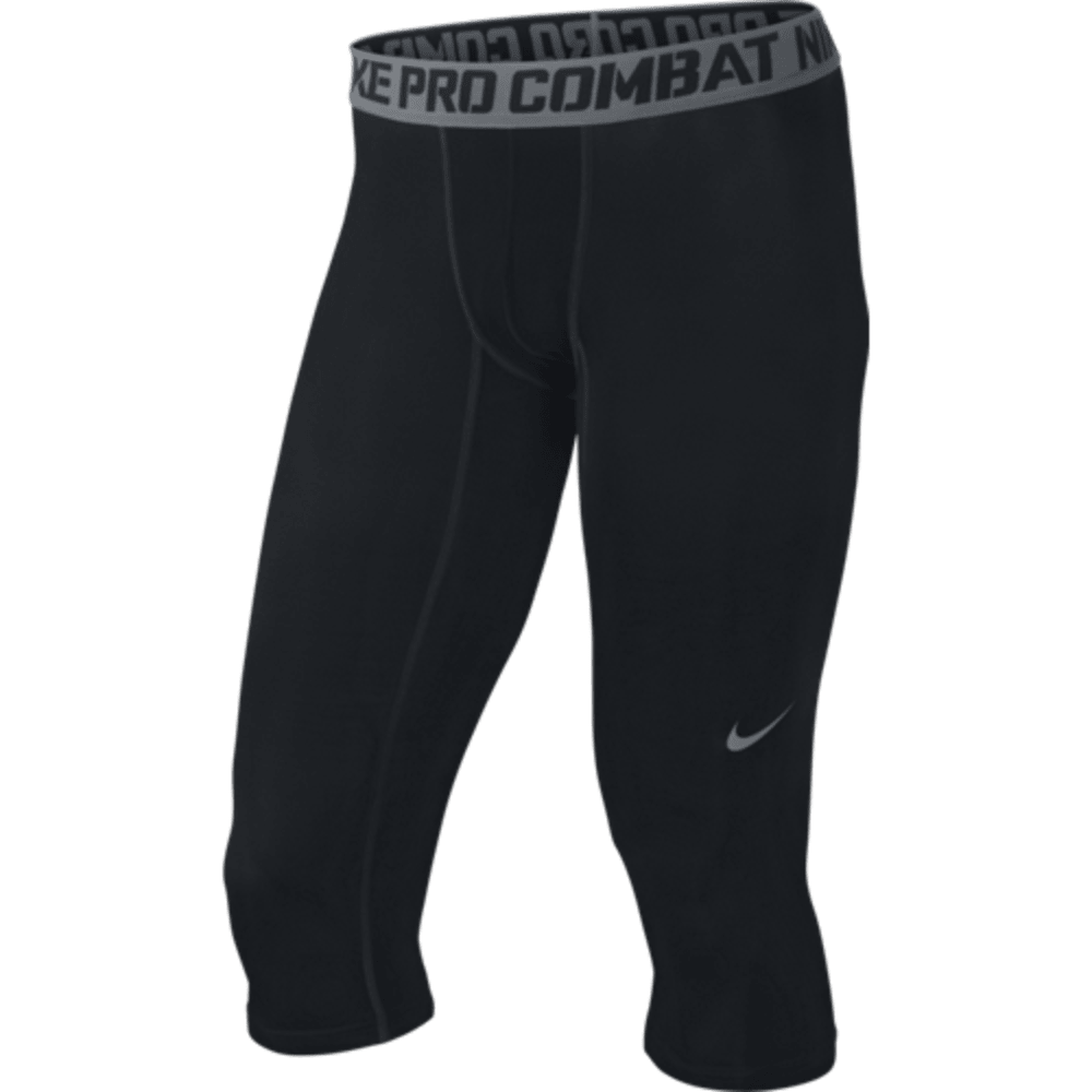 NIKE Men's Core Comp 3/4 Tights - BLACK/GREY-010