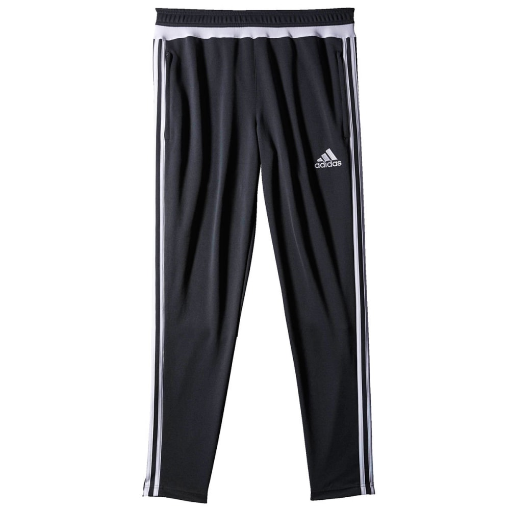 Adidas Men's Tiro 15 Training Pant - DARK GREY/WHT-S30155