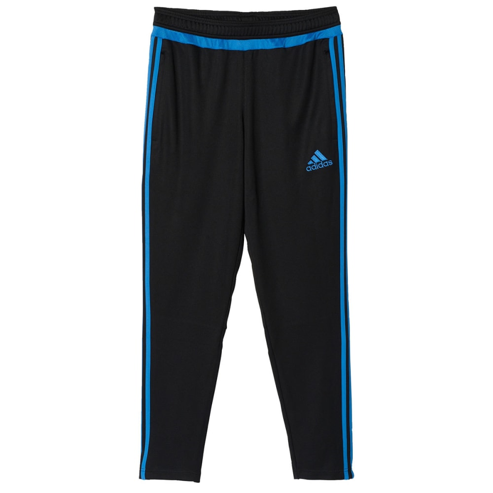 Adidas Men's Tiro 15 Training Pant - BLACK/BLUE-BQ2250