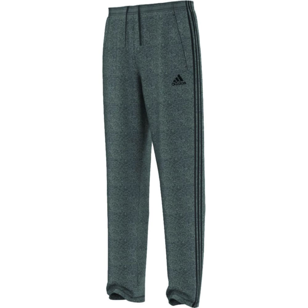 ADIDAS Men's Ultimate Fleece 3S Pants - DGH/BLK-A99850