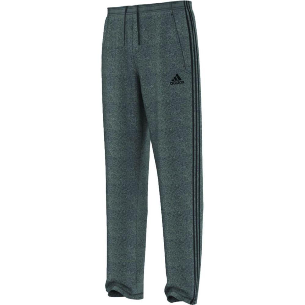 ADIDAS Men's Ultimate Fleece 3S Pants - DGH/BLK-A99850