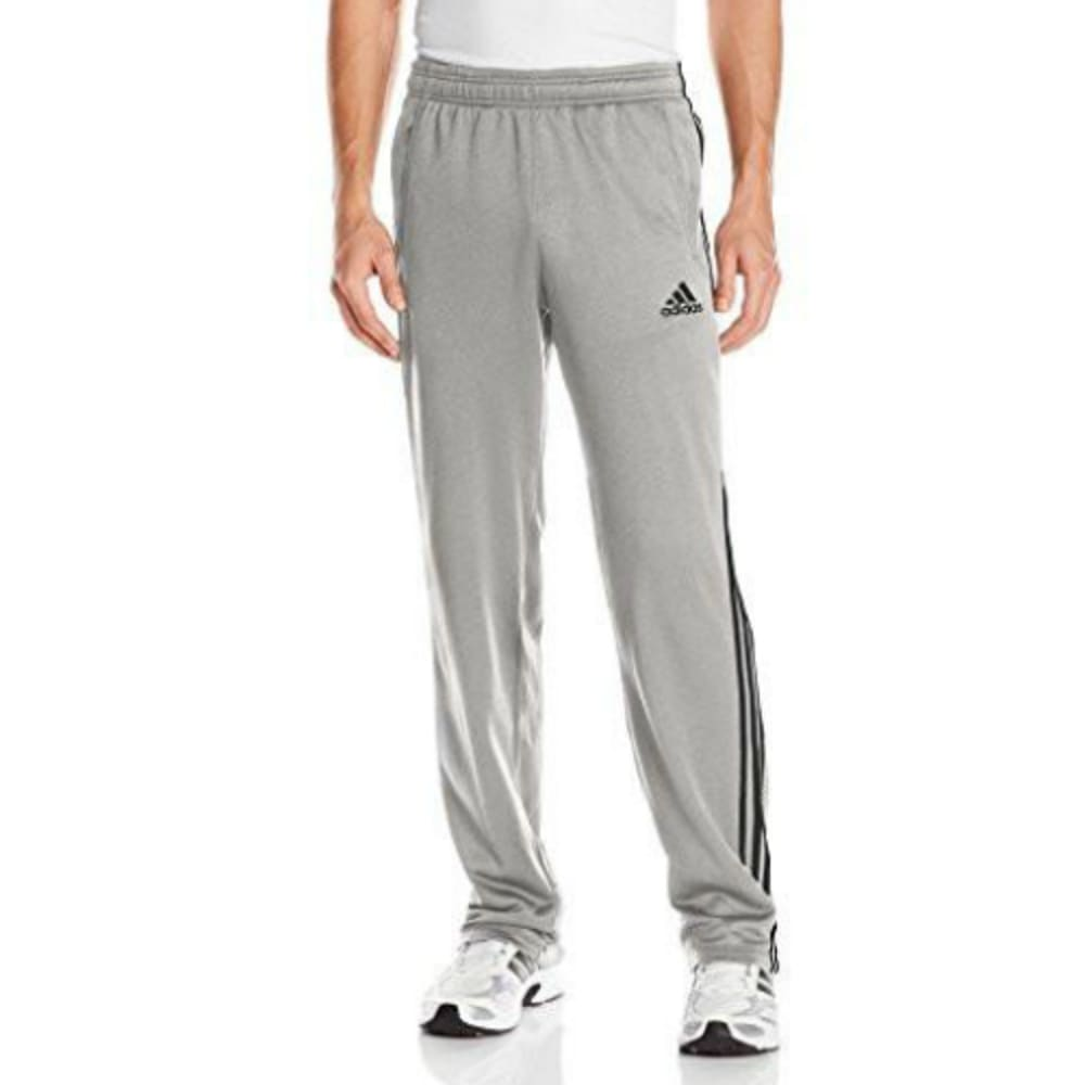 ADIDAS Men's Ultimate Fleece 3S Pants - MED GRY HTHR-A15476