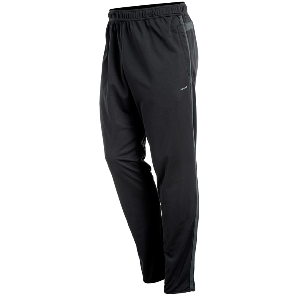 HIND Men's Hydra Slim Fit Running Pants - BLACK-BLK