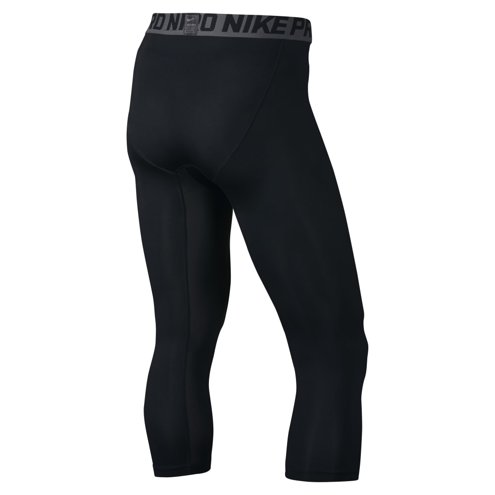 NIKE Men's Hypercool Max 3/4 Tights - BLACK-010