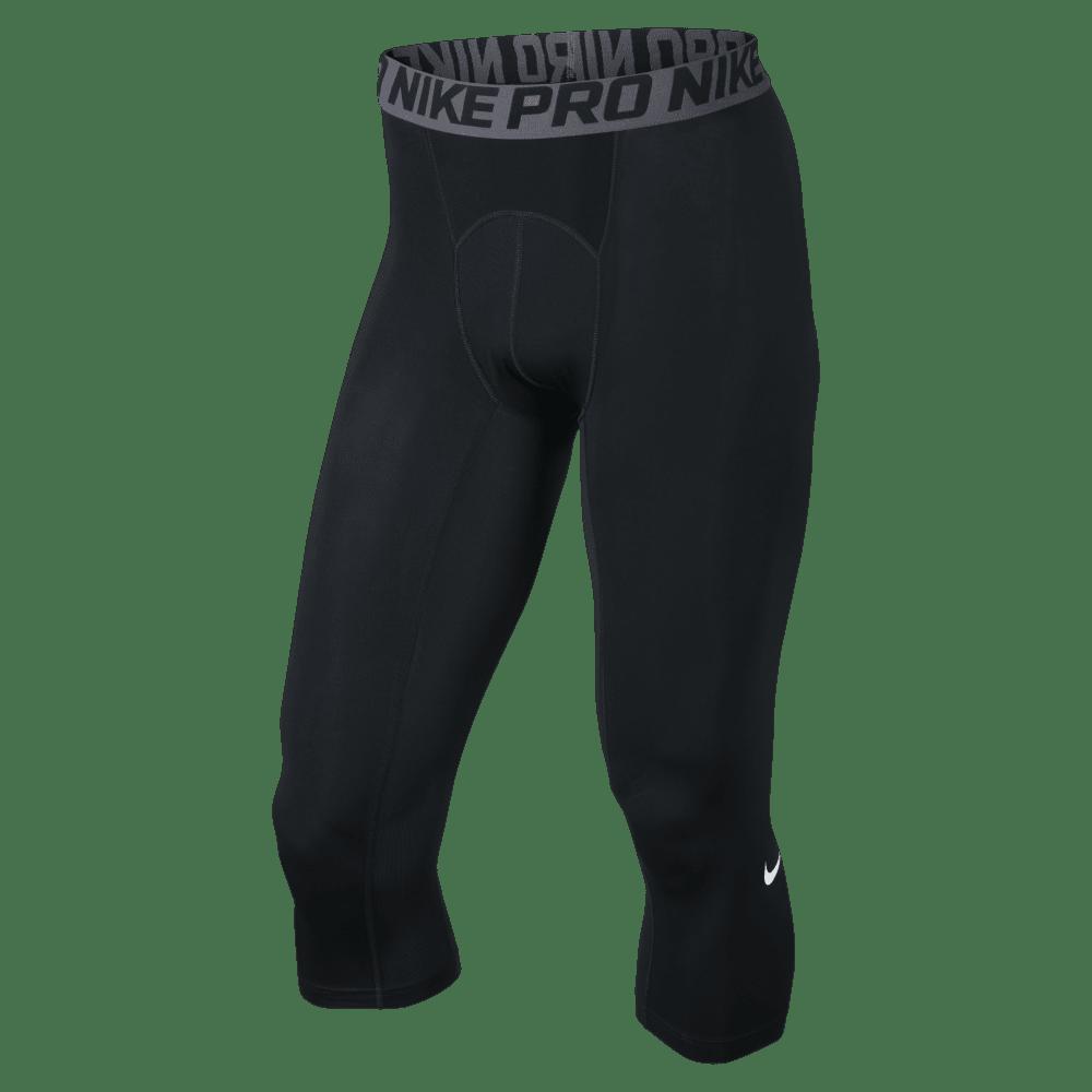 NIKE Men's Hypercool Max 3/4 Tights - BLACK-010