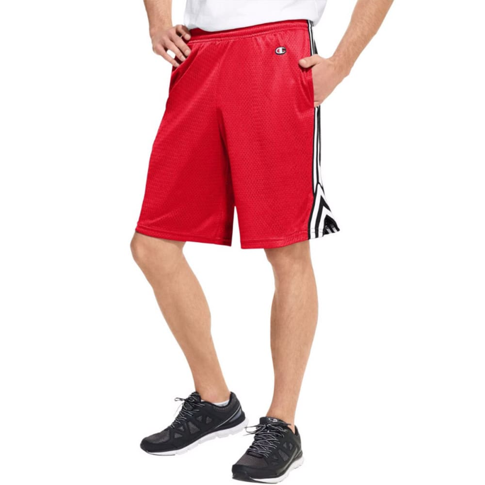 Champion Men's Lacrosse Shorts - Red, M