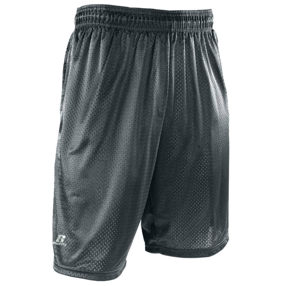 RUSSELL ATHLETIC Men's Mesh Pocketed Shorts M