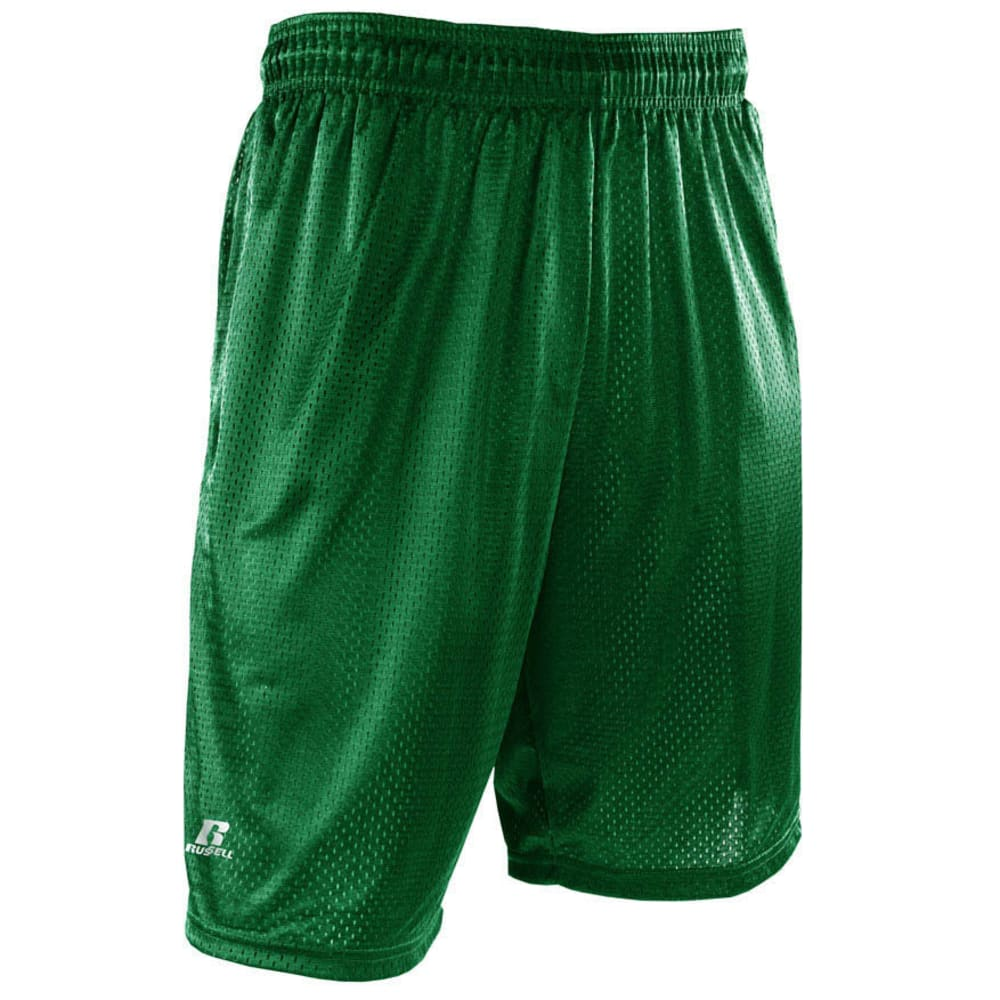 RUSSELL ATHLETIC Men's Mesh Pocketed Shorts S