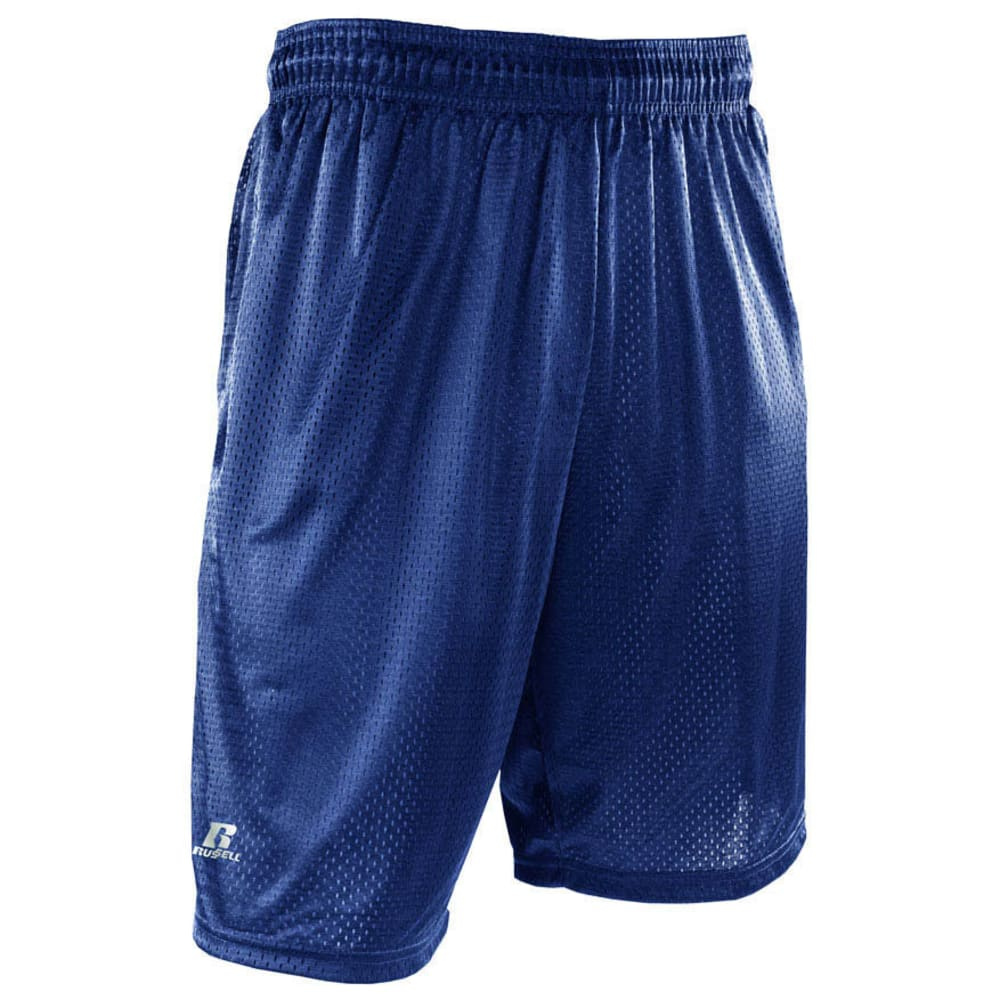RUSSELL ATHLETIC Men's Mesh Pocketed Shorts - NAVY-NAV