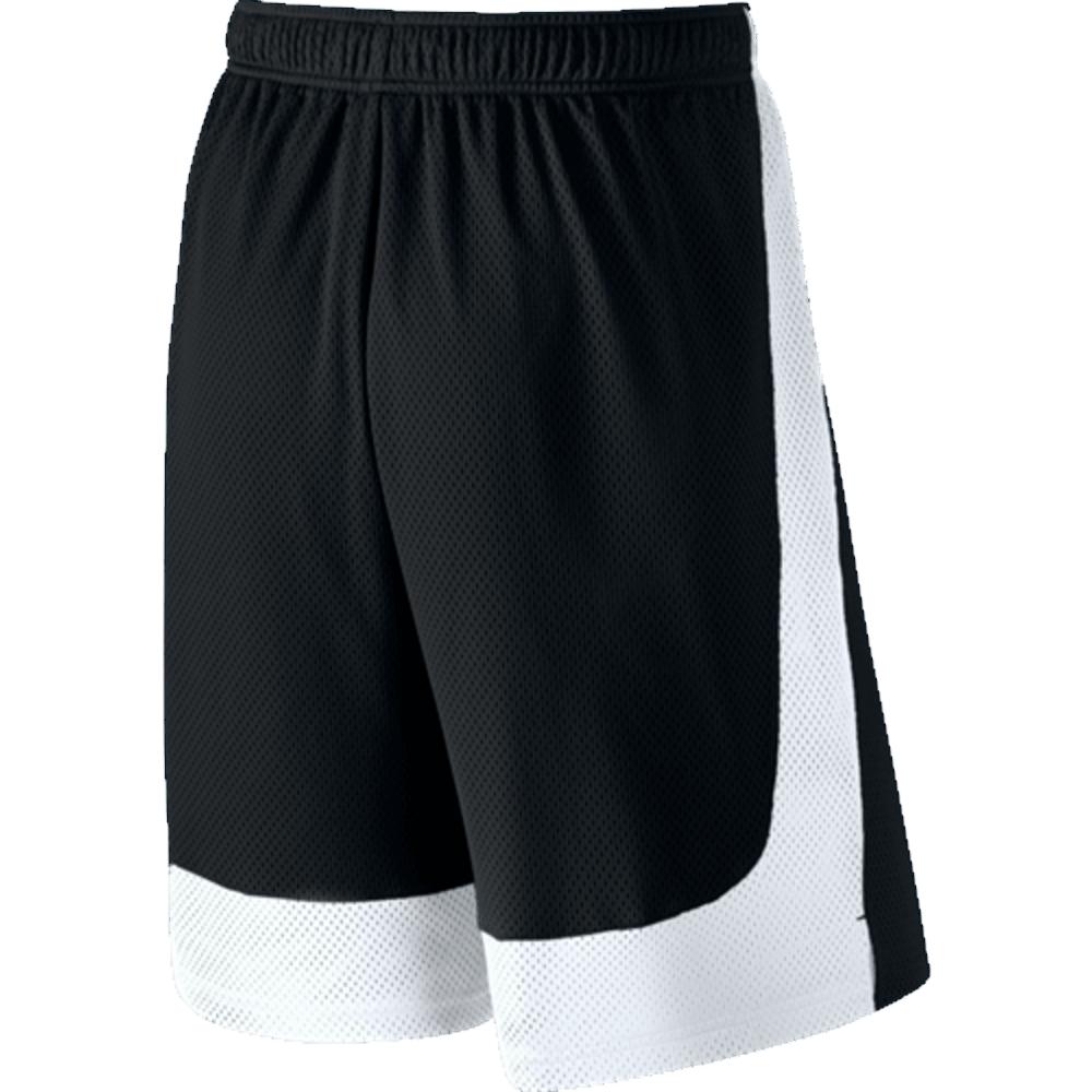 NIKE Men's Monster Mesh Shorts - BLACK/WHITE-010