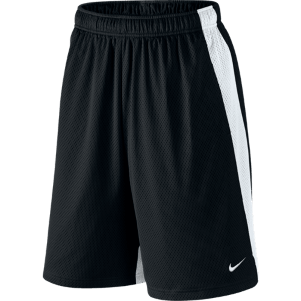 NIKE Men's Monster Mesh Shorts - BLACK/WHITE-010