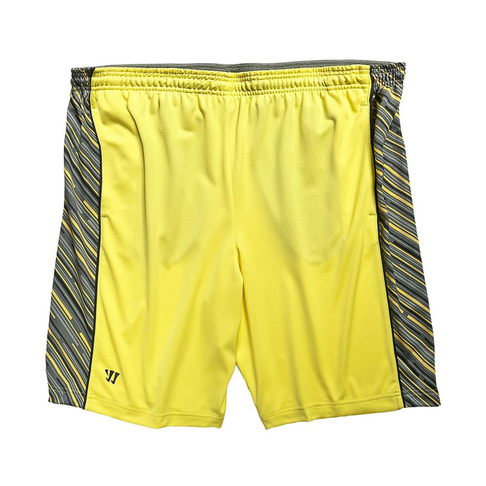WARRIOR Men's Ain't So Laser Shorts - NEON YELLOW