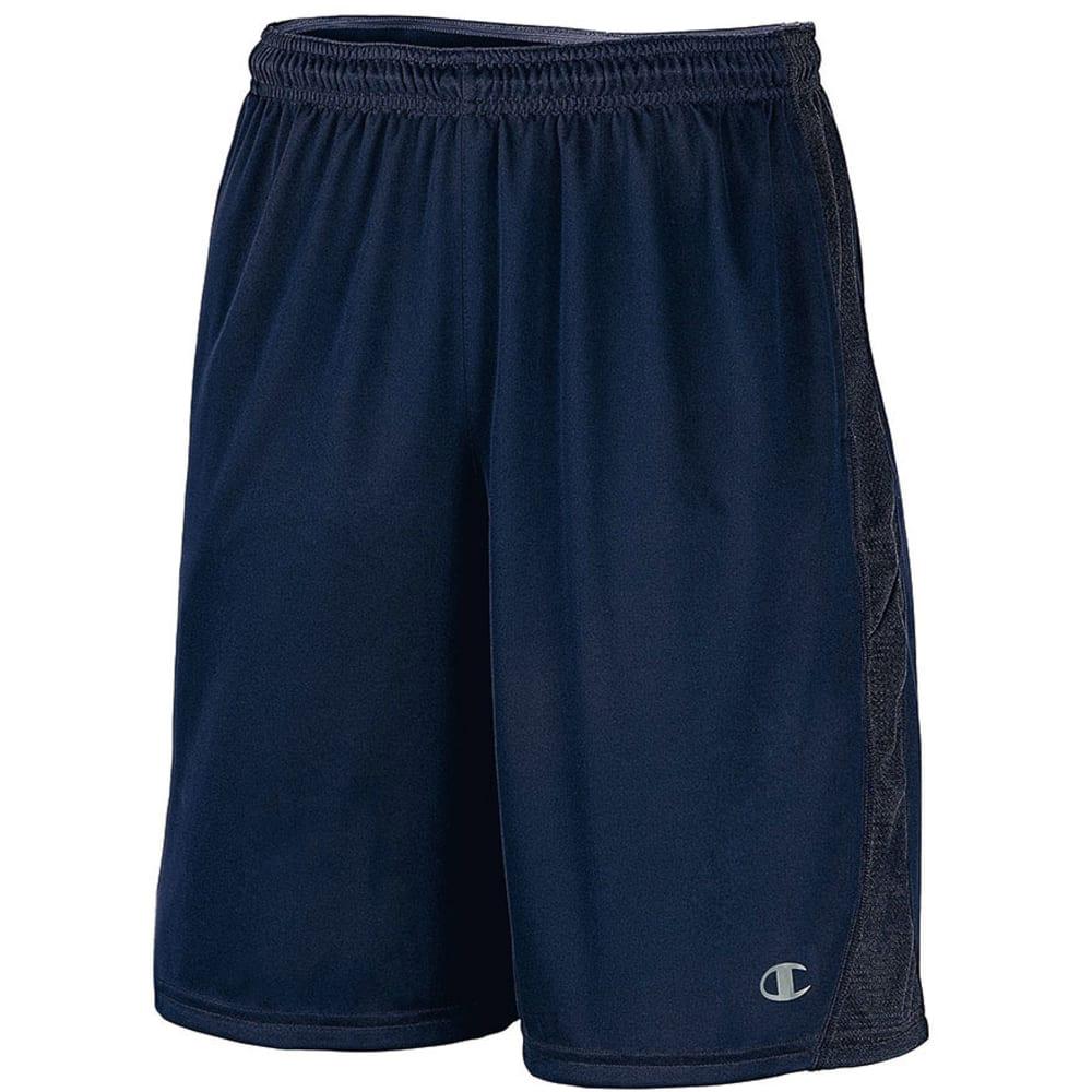 CHAMPION Men's Powertrain Knit Shorts - NAVY-031