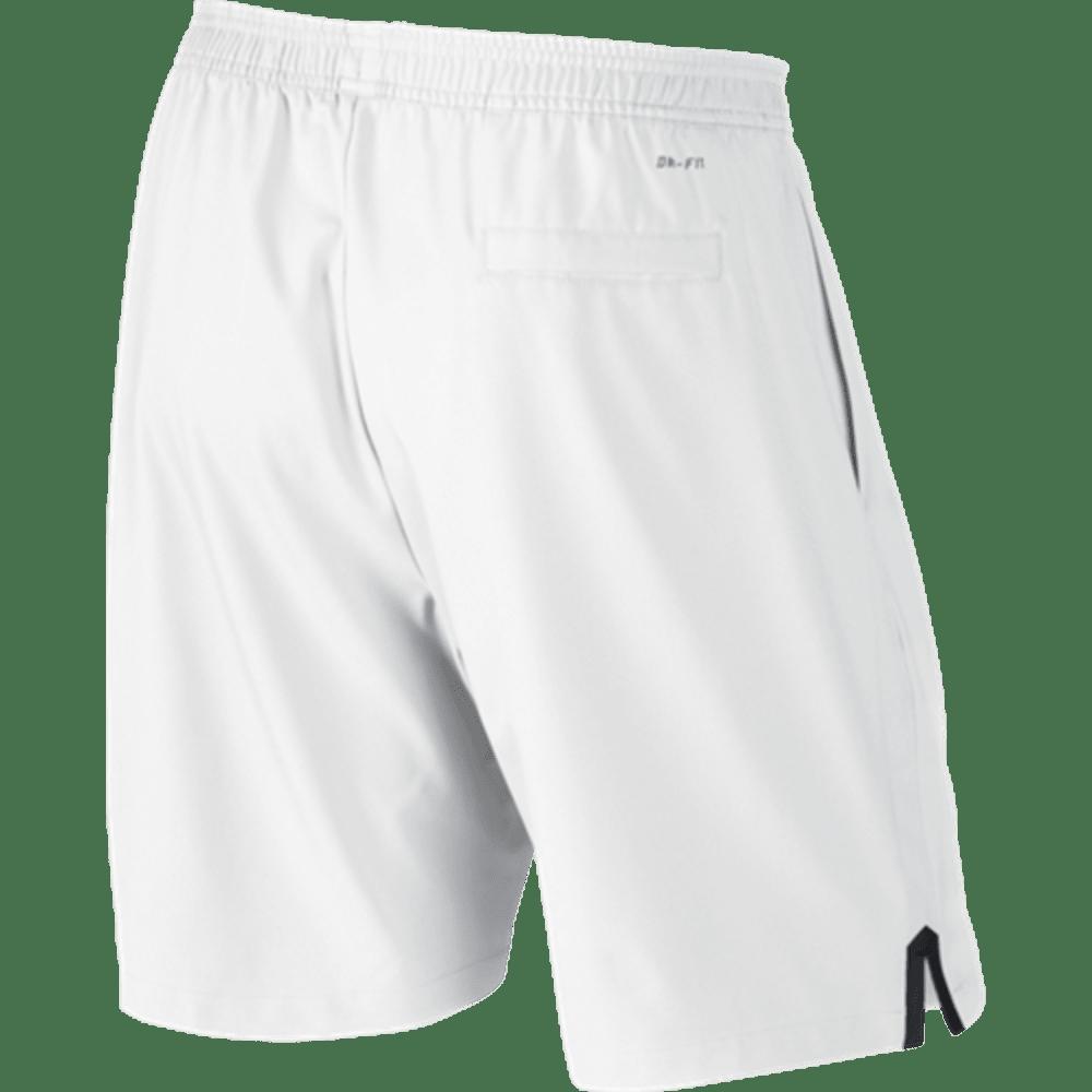 NIKE Mens' Court 9 Inch Shorts - WHITE/BLACK-102