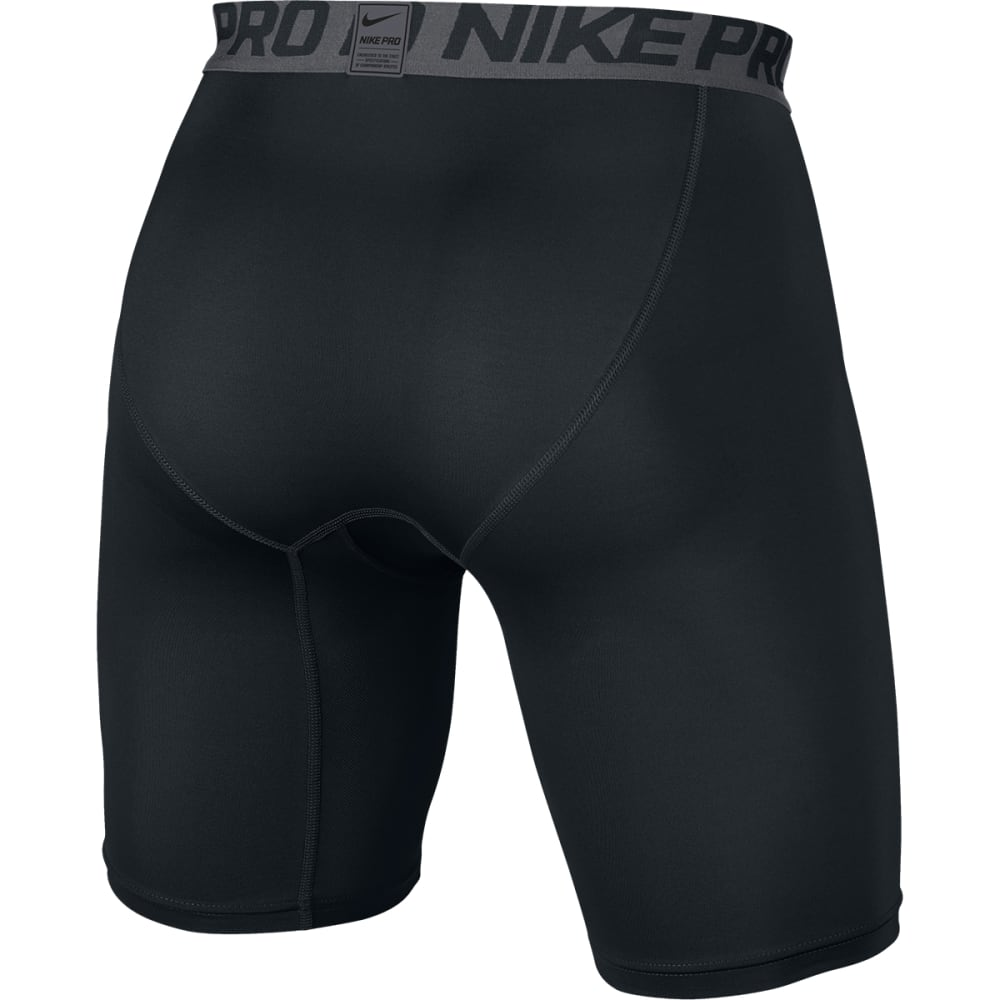 NIKE Men's Hypercool Comp 6 Inch Shorts - BLACK/DARK GRAY-010