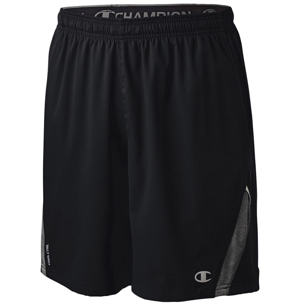 CHAMPION Men's 6.2 Shorts - BLACK HTHR-FS3