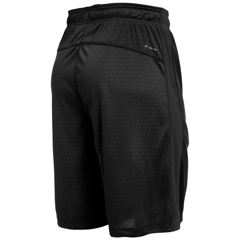 LAYER 8 Men's Training Shorts - BLACK-RCB