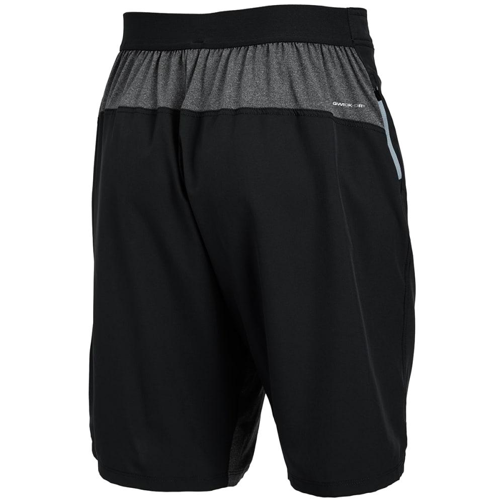 LAYER 8 Men's Cross Training Shorts - BLACK-RCB