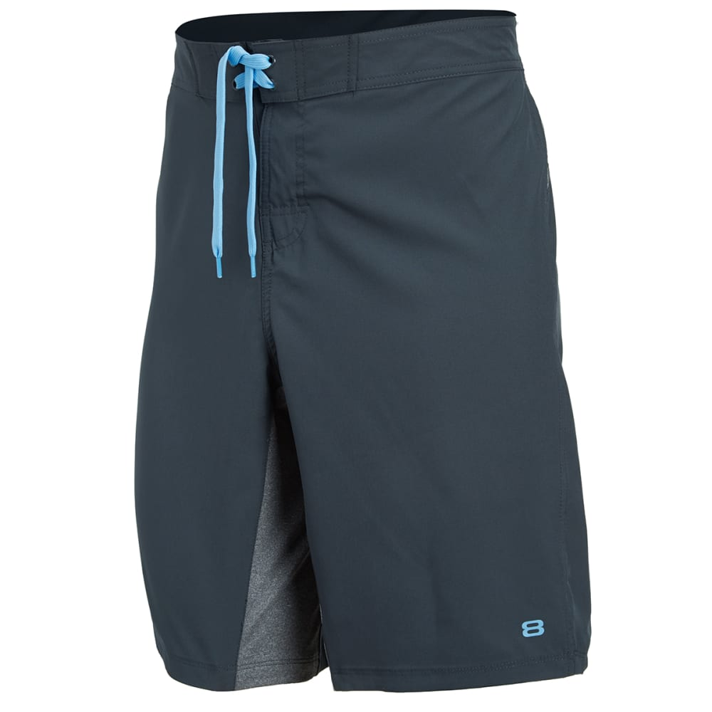 LAYER 8 Men's Cross Training Shorts - GREYSTONE-GYT