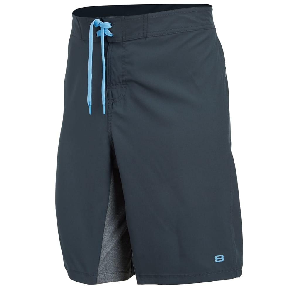 LAYER 8 Men's Cross Training Shorts - GREYSTONE-GYT