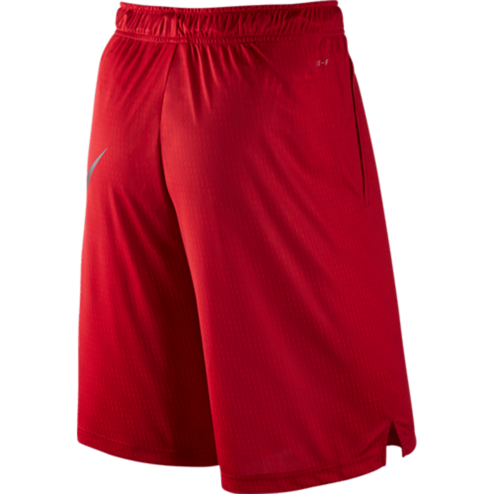 NIKE Men's Fly Sonic Training Shorts - GYM RED-687