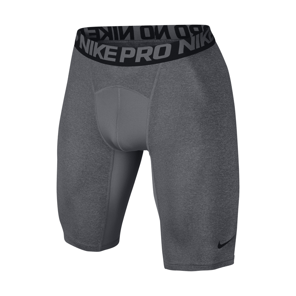 NIKE Men's Hypercool Comp 9 Inch Shorts - CARBON/BLK-091