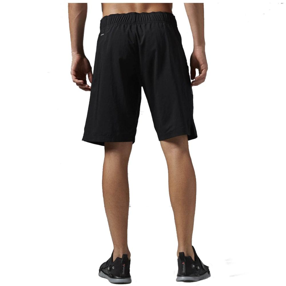 REEBOK Men's Workout Ready Boardshorts - HEATHER BLACK-AJ2964