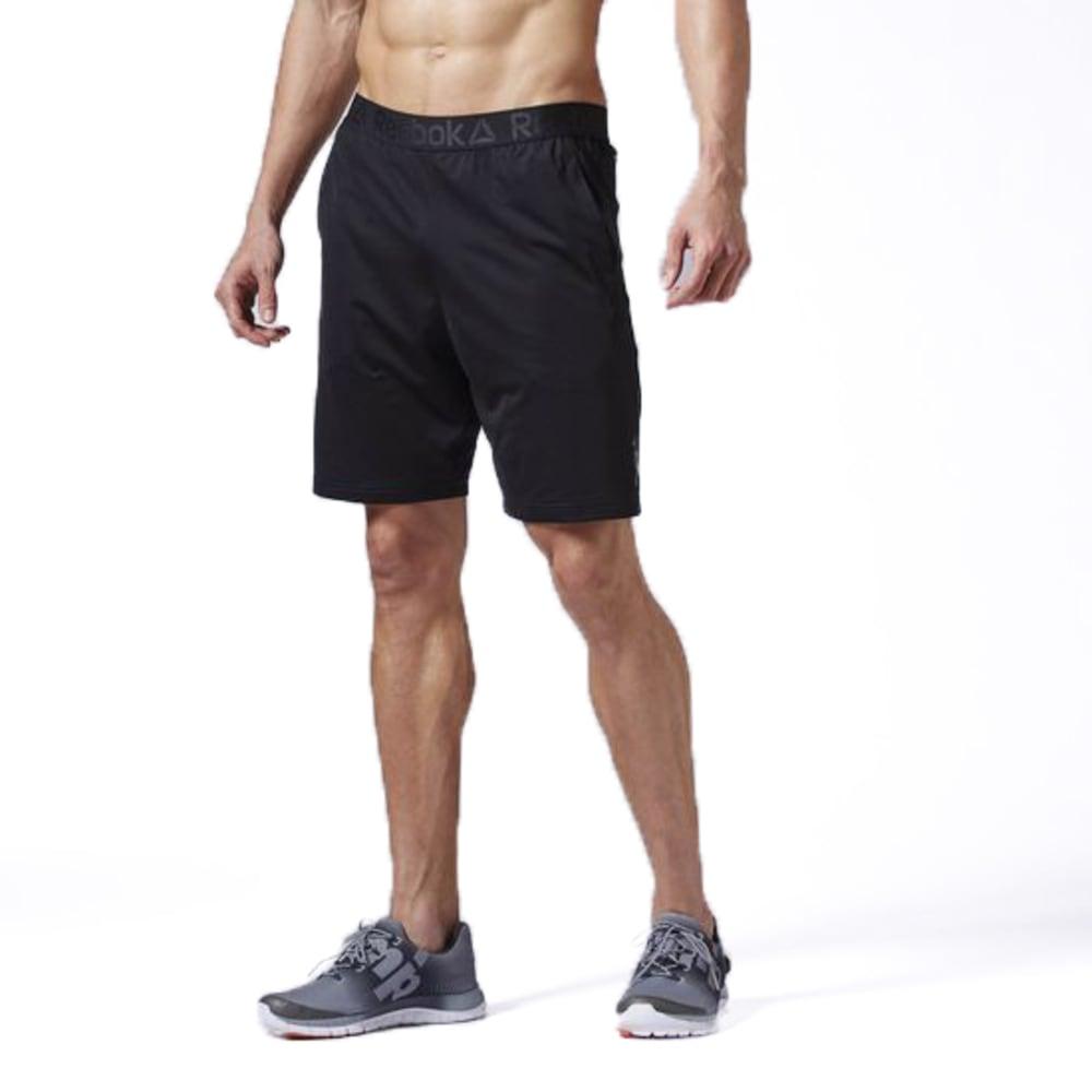 REEBOK Men's Workout Ready Training Short - BLACK-AJ2965
