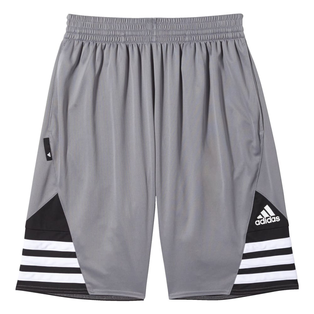 ADIDAS Men's Superstar 2.0 Shorts - GREY/BLK-F84471