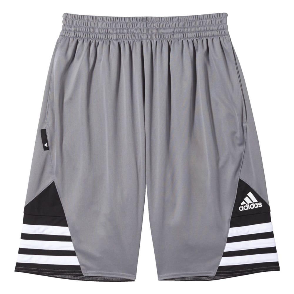 ADIDAS Men's Superstar 2.0 Shorts - GREY/BLK-F84471