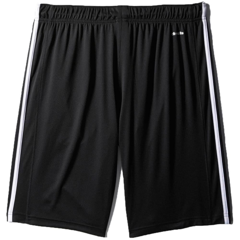 ADIDAS Men's Essential Shorts - BLACK/WHITE-F86297