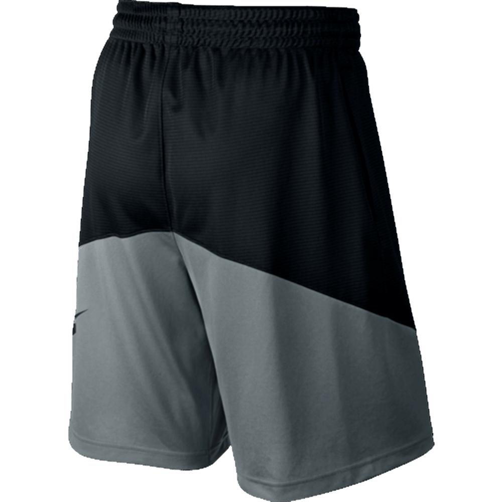 NIKE Men's HBR Basketball Shorts - BLK/COOL GRY-010