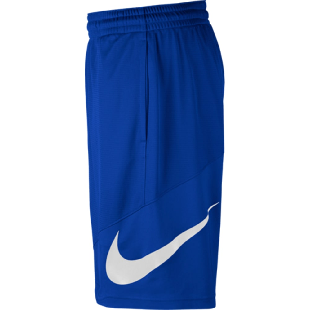 NIKE Men's HBR Basketball Shorts - ROYAL/WHITE-480
