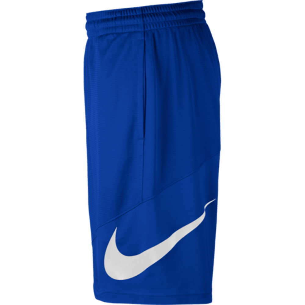 NIKE Men's HBR Basketball Shorts - ROYAL/WHITE-480