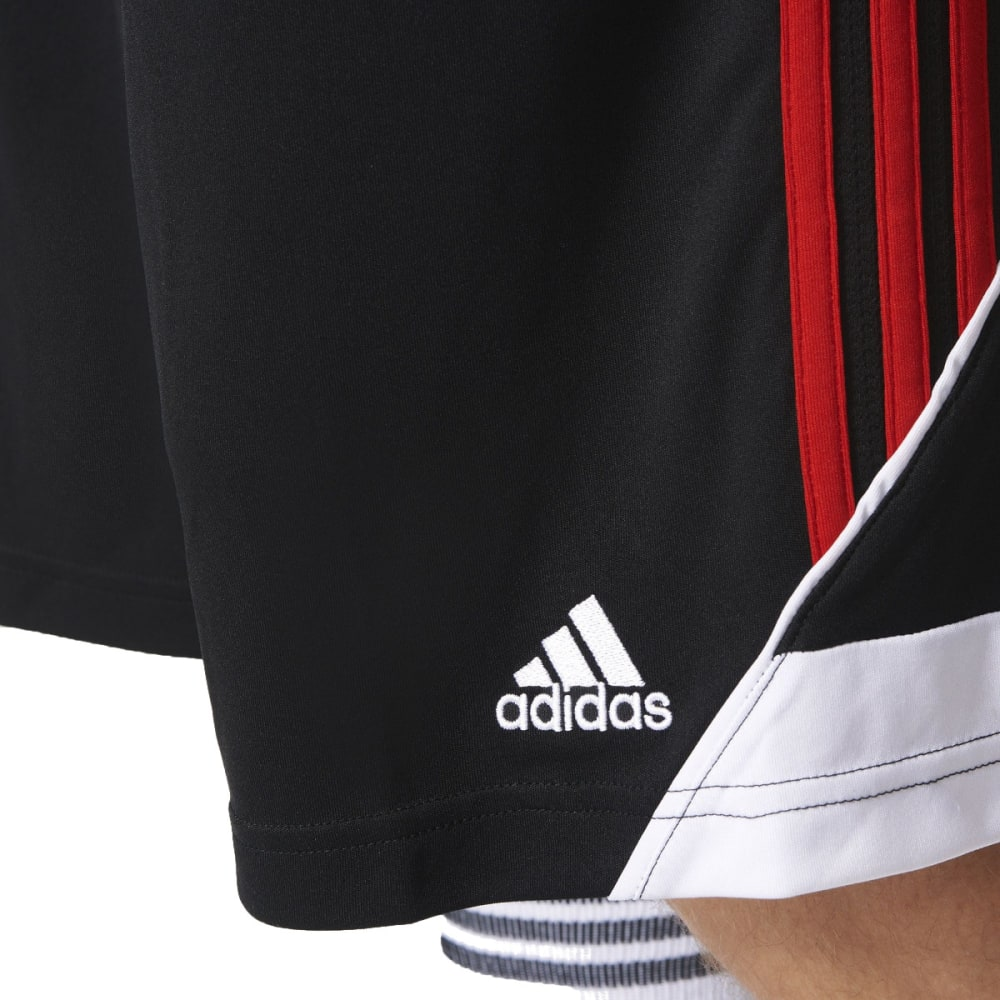 ADIDAS Men's 3G Speed 2.0 Basketball Shorts - BLACK/SCARLET-AH6434