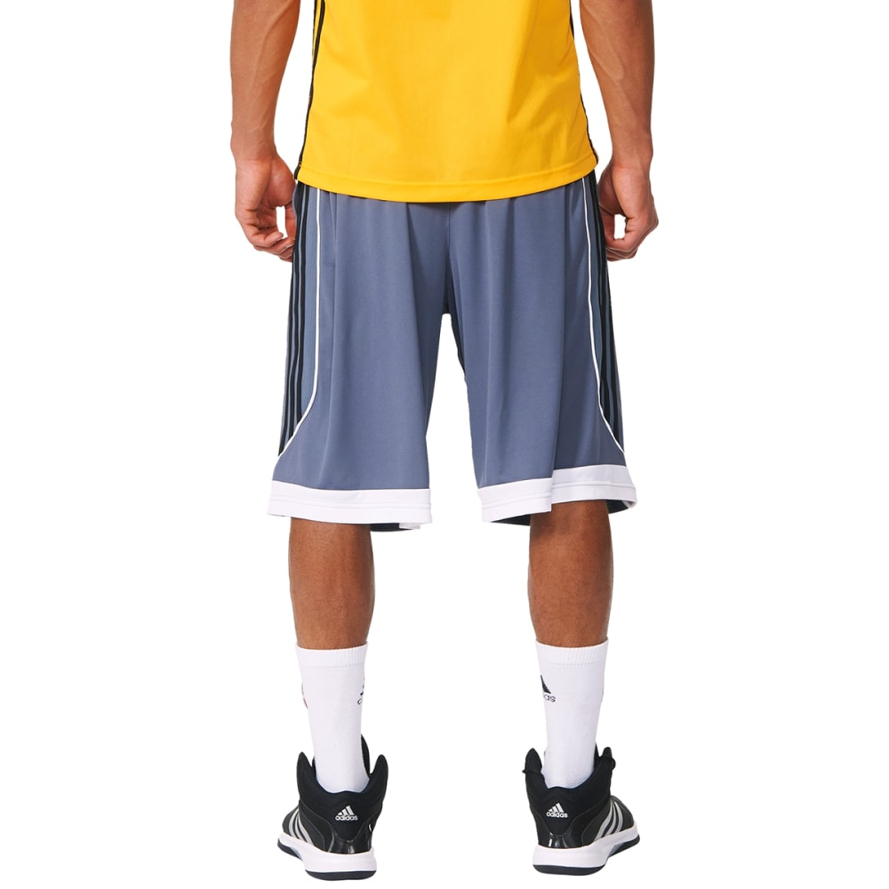 ADIDAS Men's 3G Speed 2.0 Basketball Shorts - ONIX/BLACK-AH6436