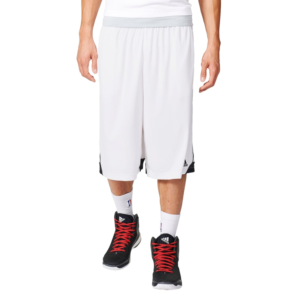 ADIDAS Men's 3G Speed 2.0 Basketball Shorts - WHT/ONIX/BLK-AP9164