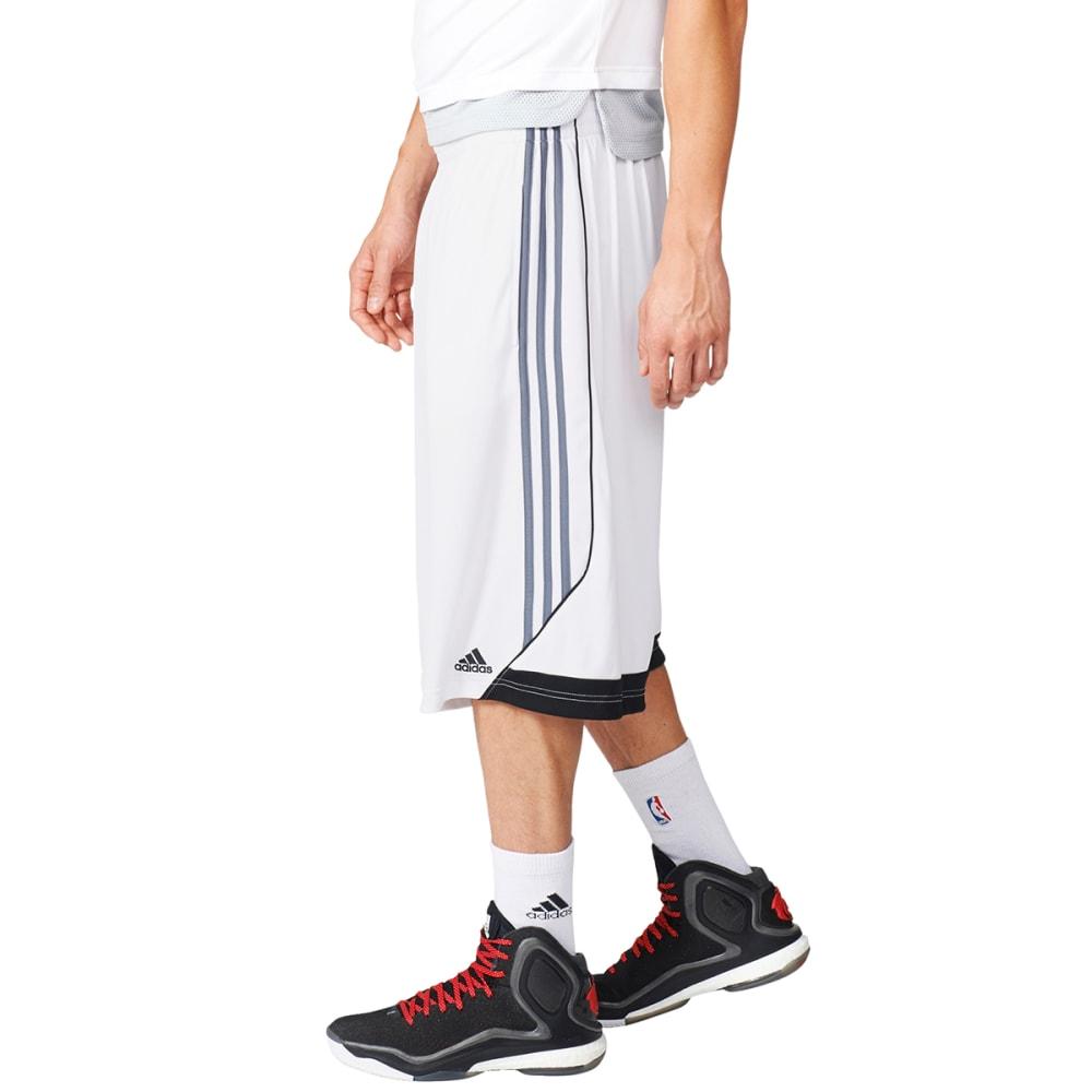 ADIDAS Men's 3G Speed 2.0 Basketball Shorts - WHT/ONIX/BLK-AP9164