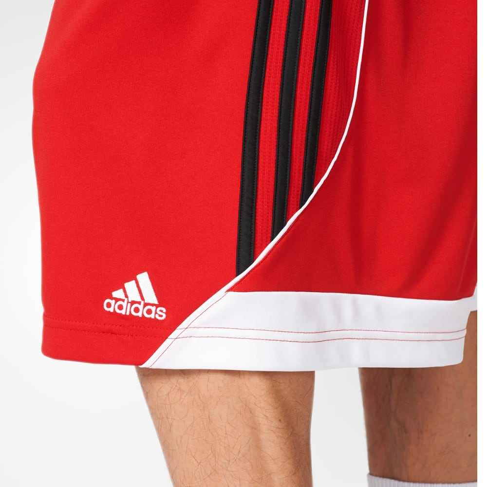 ADIDAS Men's 3G Speed 2.0 Basketball Shorts - SCARLET/BLK-AH6438
