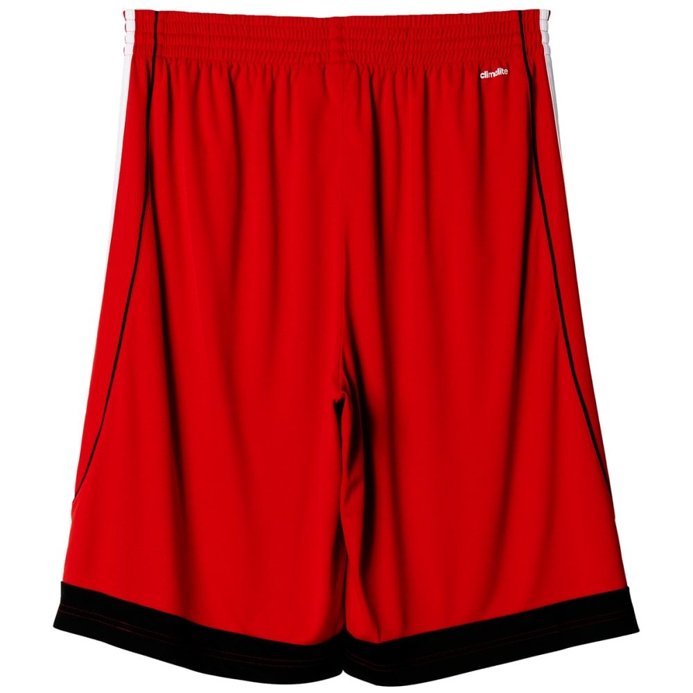 ADIDAS Men's 3G Speed Basketball Shorts - RED/WHT/BLK-AP9166