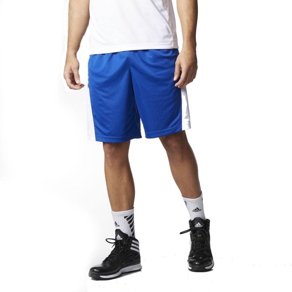 ADIDAS Men's Team Speed Practice Shorts, Blue - RYL/DGH/WHT-AA6348