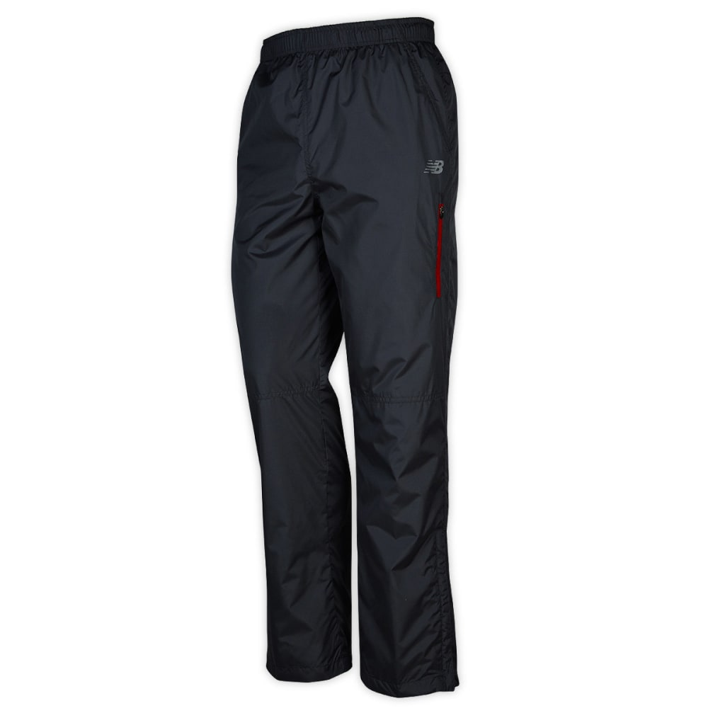 NEW BALANCE Men's Ripstop Wind Pants - CHARCOAL RED