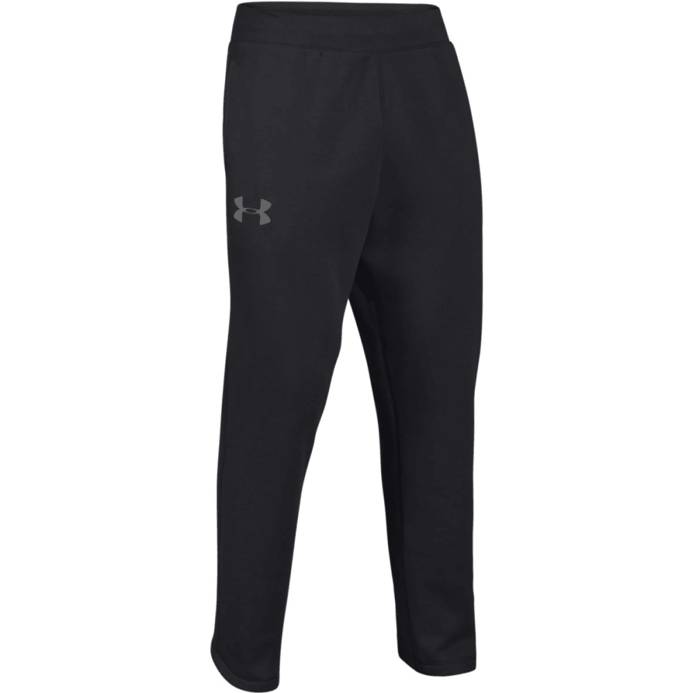 UNDER ARMOUR Men's Rival Pants - BLACK-001