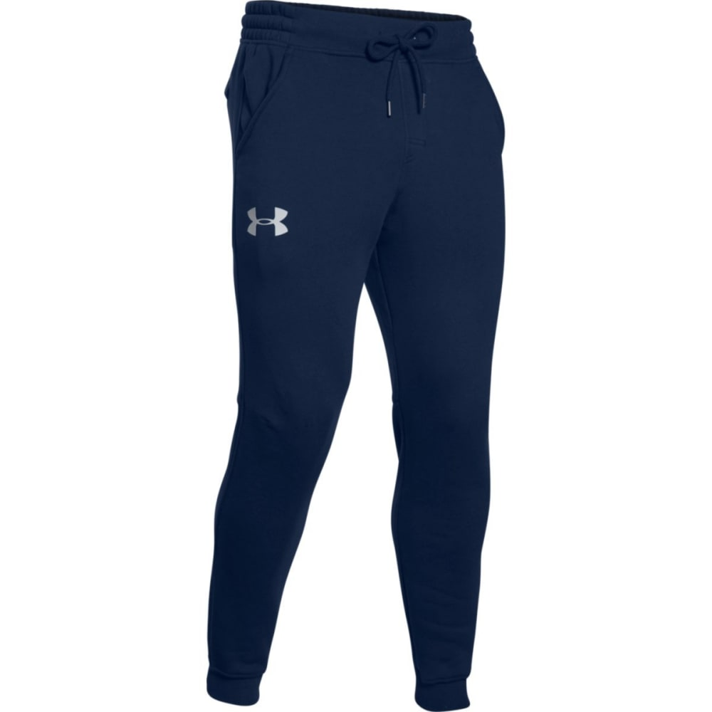 UNDER ARMOUR Men's Rival Fleece Jogger Pants - ACADEMY/GRAY-408
